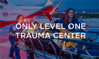 Only Level One Trauma Center